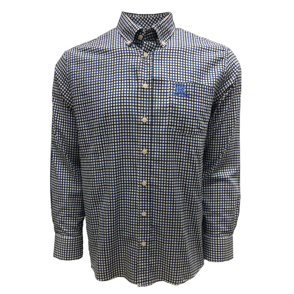 Kentucky Frederick Martin Multi Stripe Dress Shirt