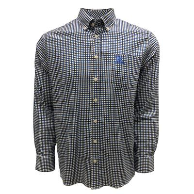 Kentucky Frederick Martin Multi Stripe Dress Shirt