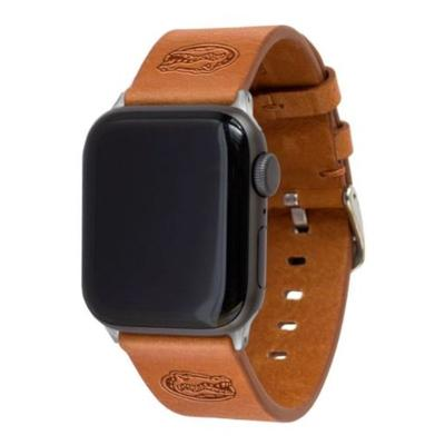 Florida Tan Leather 38/40mm Apple Watch Band S/M