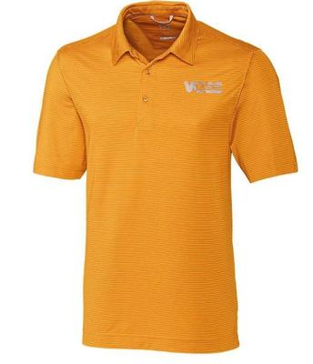 Tennessee Cutter & Buck Vol Star Prevail Stripe Polo
