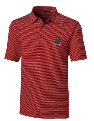 Alabama Cutter & Buck Forge Pencil Stripe Vault Polo