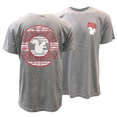 Western Kentucky Squirrel Circle Comfort Colors Tee