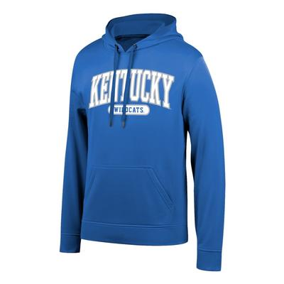 Kentucky Arch Logo Poly Hooded Fleece