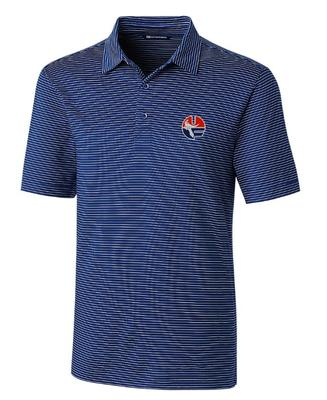 Florida Cutter & Buck Forge Circle UF Pencil Stripe Polo
