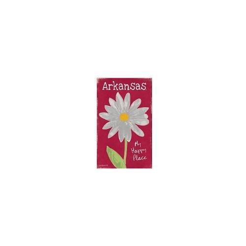 Arkansas Legacy Flower Canvas 14
