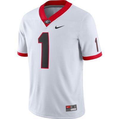 Georgia Nike #1 Game Jersey