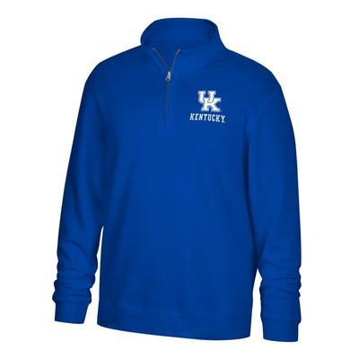 Kentucky Foundation 1/4 Zip Fleece Pullover ROYAL