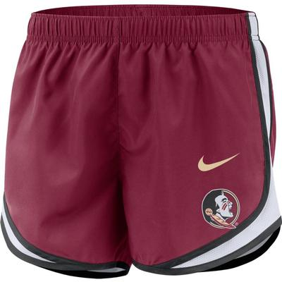 Florida State Nike Women's Dri-FIT Tempo Shorts TEAM_MAROON