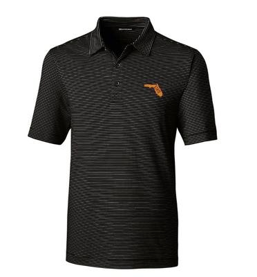 Florida State Cutter & Buck Forge Pencil Stripe Vault Polo