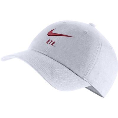 Alabama Nike H86 Swoosh Adjustable Hat WHITE