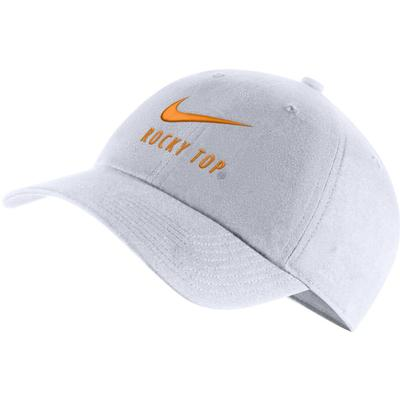 Tennessee Nike H86 Swoosh Adjustable Hat WHITE