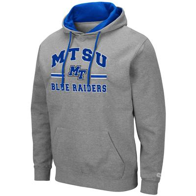 MTSU Colosseum Men's Hooded Fleece Pullover