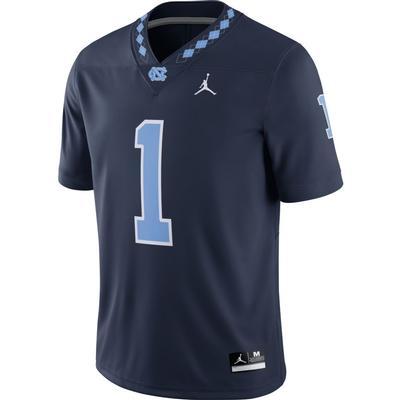 UNC Jordan Brand Football Game Jersey #1