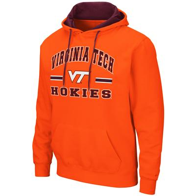 Virginia Tech Colosseum Men's Hooded Fleece Pullover