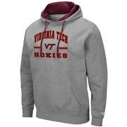 Virginia Tech Colosseum Men's Hooded Fleece Pullover