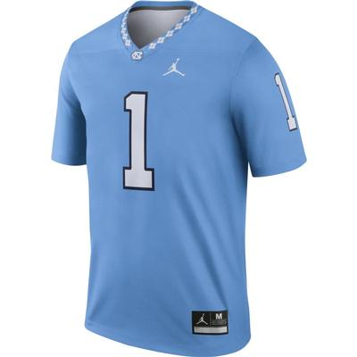 UNC Jordan Brand #1 Football Legend Jersey