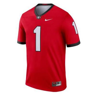 Georgia Nike #34 Football Legend Jersey