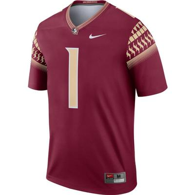 Florida State Nike #1 Football Legend Jersey