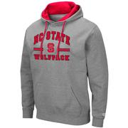 Nc State Colosseum Men's Hooded Fleece Pullover
