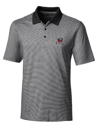 Georgia Cutter & Buck Tonal Stripe Forge Big & Tall Polo