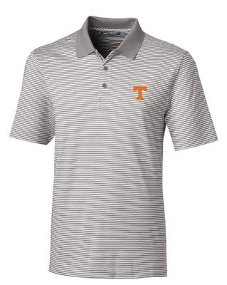 Tennessee Cutter & Buck Tonal Stripe Forge Big & Tall Polo