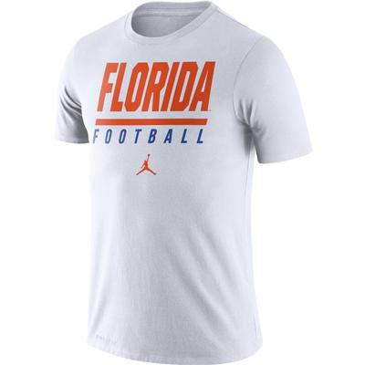 Florida Jumpman Dri-FIT Cotton Icon Football Tee