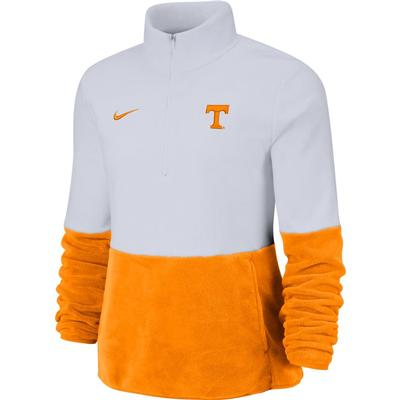 Tennessee Nike Women's Therma Half Zip Fleece Pullover