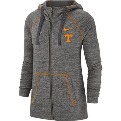 Tennessee Women's Nike Full Zip Gym Hoodie