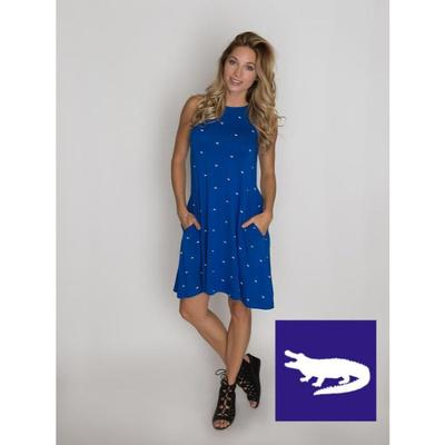 Florida Stewart Simmons A Line Dress