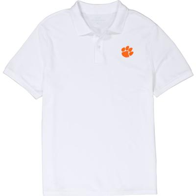 Clemson Vineyard Vines Stretch Pique Polo