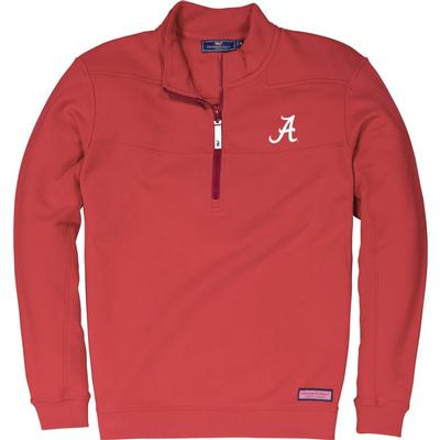Alabama Vineyard Vines Shep 1/2 Zip Pullover