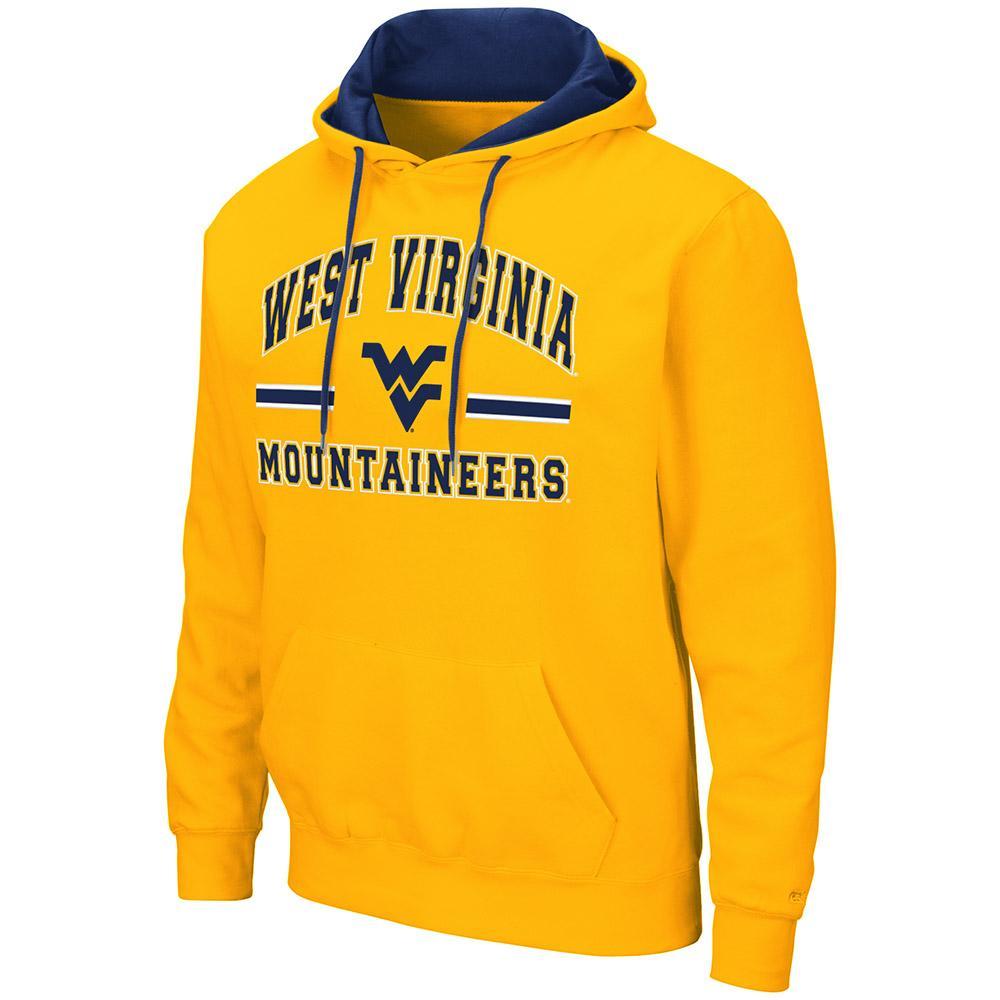 West Virginia Colosseum Men's Hooded Fleece Pullover