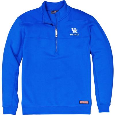 Kentucky Vineyard Vines Shep 1/2 Zip Pullover