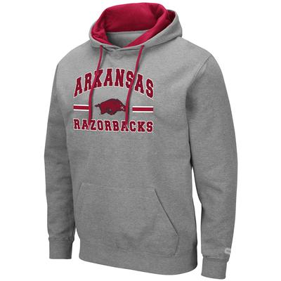 Arkansas Colosseum Men's Hooded Fleece Pullover