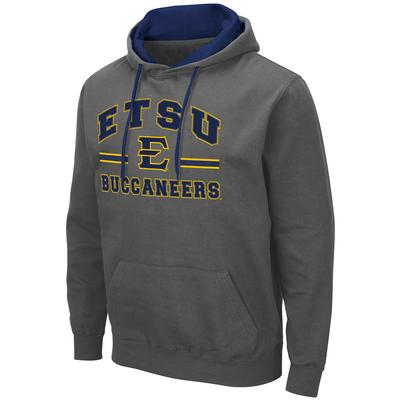 ETSU Colosseum Men's Hooded Fleece Pullover