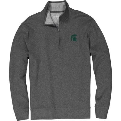 Michigan State Vineyard Vines Saltwater 1/4 Zip Pullover