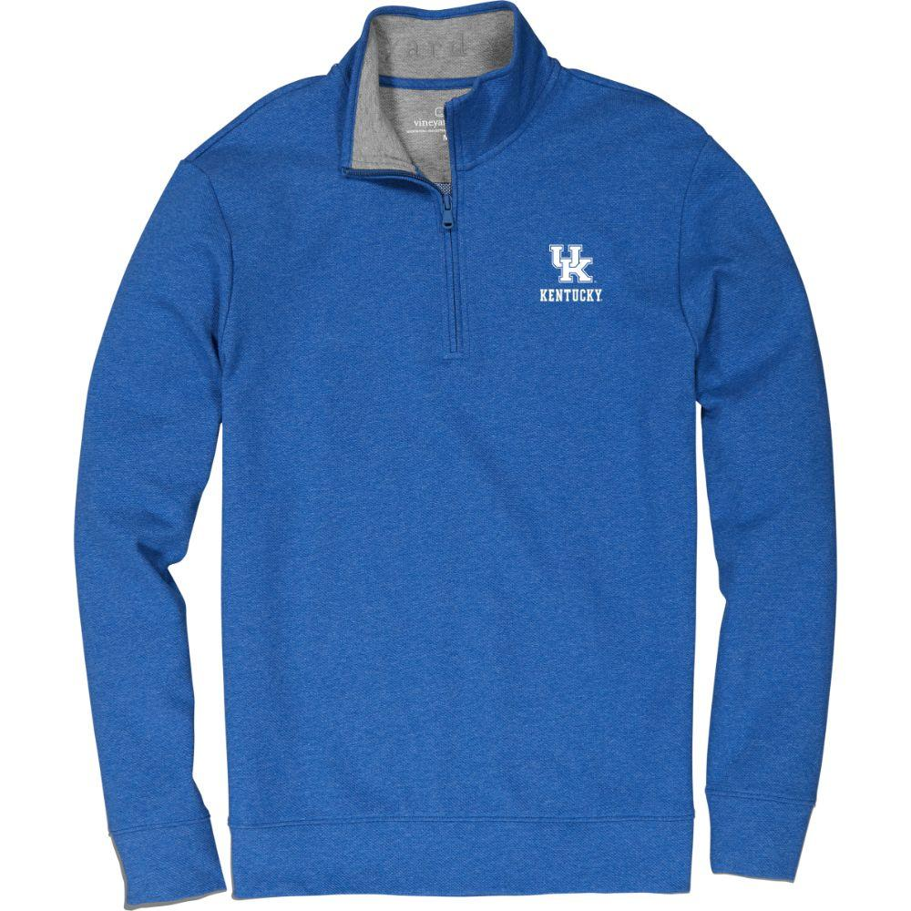 Kentucky Vineyard Vines Saltwater 1/4 Zip Pullover
