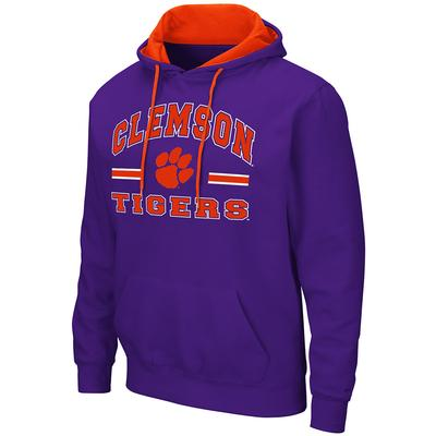 Clemson Colosseum Men's Hooded Fleece Pullover