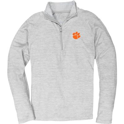 Clemson Vineyard Vines Sankaty Performance 1/2 Zip Pullover