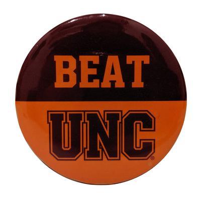 Maroon & Orange Beat UNC Button