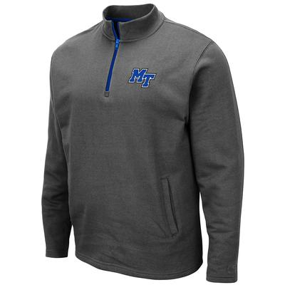 MTSU Colosseum Men's 1/4 Zip Fleece Pullover