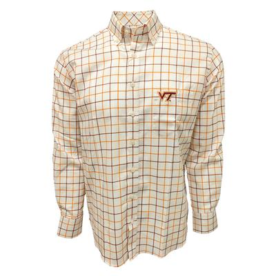 Virginia Tech Frederick Martin Big Plaid Woven