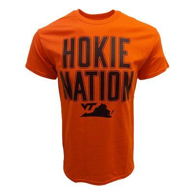 Virginia Tech Hokie Nation T-Shirt ORANGE