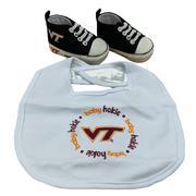 Virginia Tech Big And Pre- Walker Baby Set