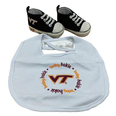 Virginia Tech Big and Pre-Walker Baby Set