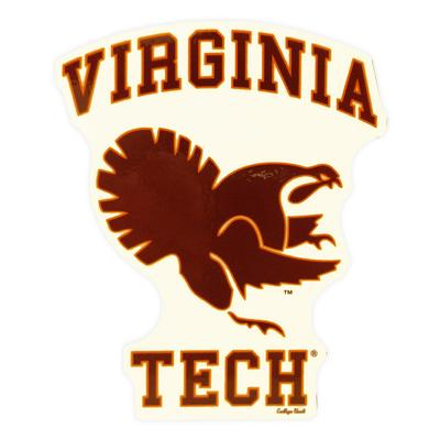 Virginia Tech Fighting Gobbler Magnet