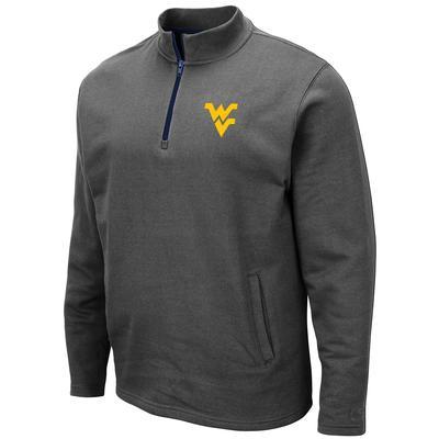 West Virginia Colosseum Men's 1/4 Zip Fleece Pullover