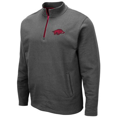 Arkansas Colosseum Men's 1/4 Zip Fleece Pullover