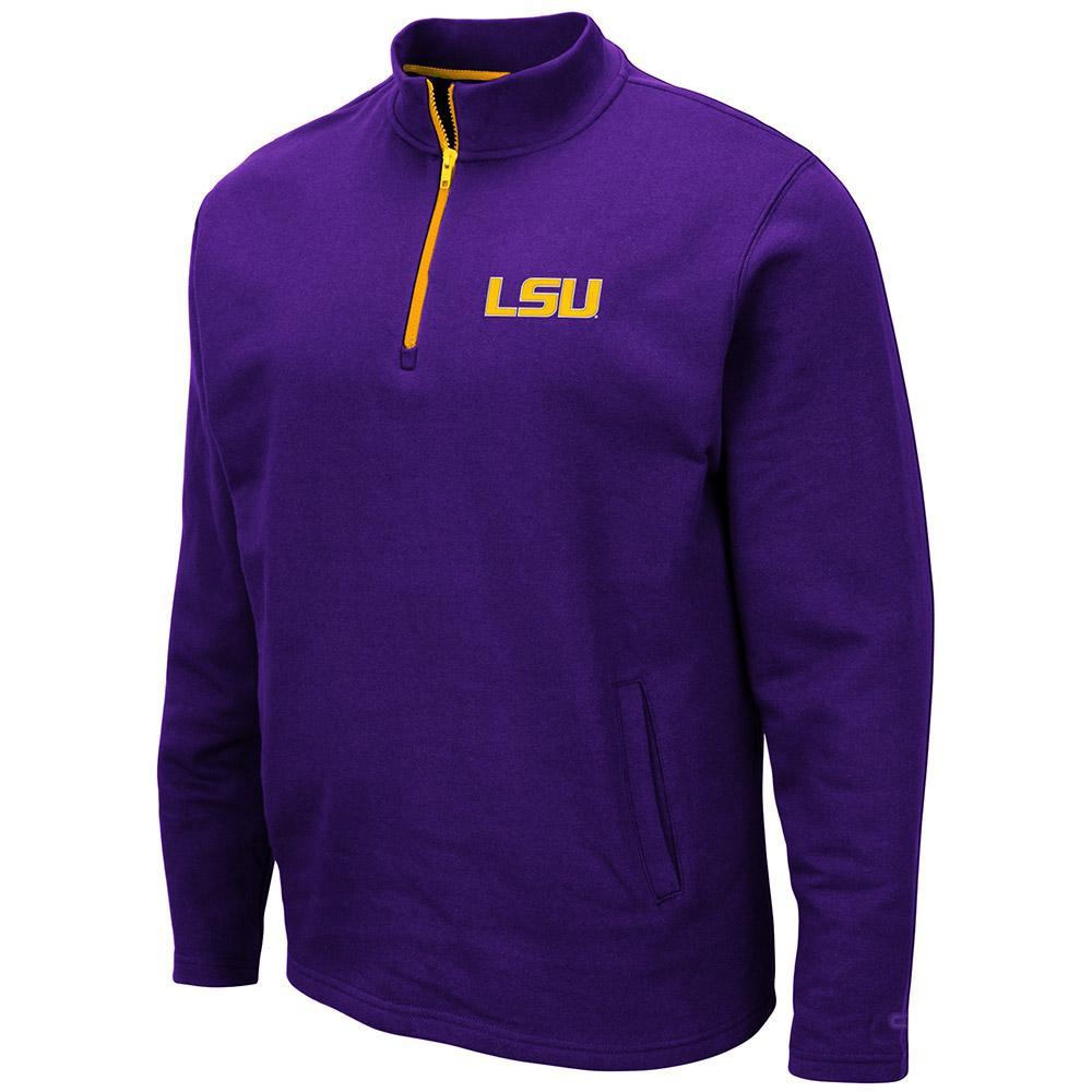 Lsu Colosseum Men's 1/4 Zip Fleece Pullover