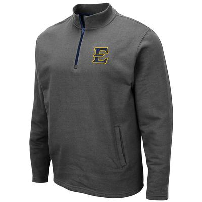 ETSU Colosseum Men's 1/4 Zip Fleece Pullover